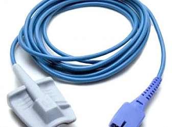 Sensor de oximetria boca de sapo